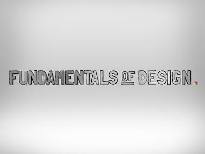 Fundamentals of Design code school design brand gray