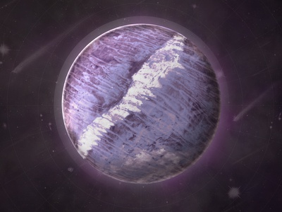 Advise Planet illustration science data science photo manipulation planet space future web island water