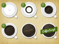 Coffeescript Badges