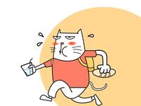 running-cat