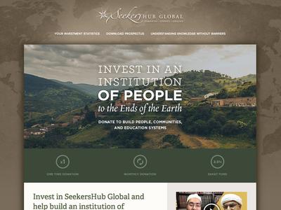 SeekersHub Donation Campaign