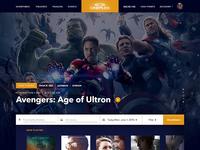 Cineplex — Conceptual redesign