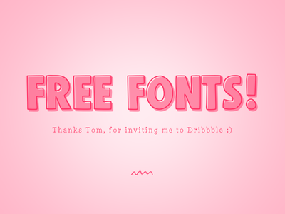 Free Fonts. Thanks Tom. free fonts marcusfont blockfont thanks debut marcus michaels