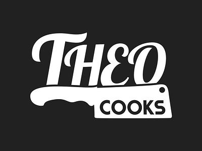 Theo Cooks Logo logo identity concept cook pop-up restaurant masterchef contestant 2014