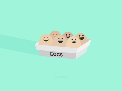 Egg Faces egg happy faces squiggle lol