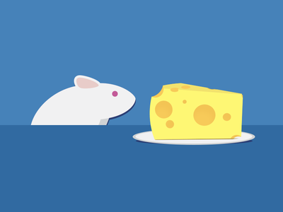Every Mouse Deserves Cheese mouse rebound cheese plate illustration swiss