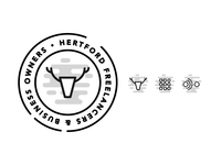Hertford Freelancers & Business Owners Logo + Icons