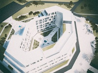 Architectural visualization: Hospital project
