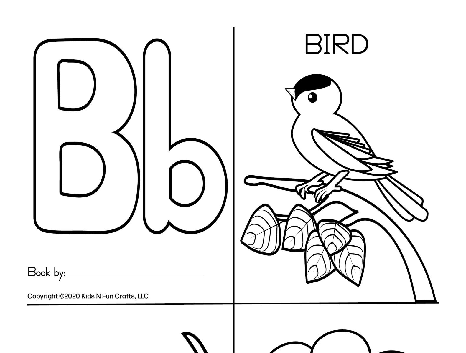Alphabet Book Coloring Pages By Deborah Goschy On Dribbble