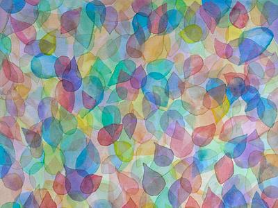 Rainbow Leaves rainbow prismatic colorful color deborahgoschygraphicdesign redbubble mamagoose26 leaves glazing watercolor art watercolors watercolor design pattern fabricprint deborah goschy