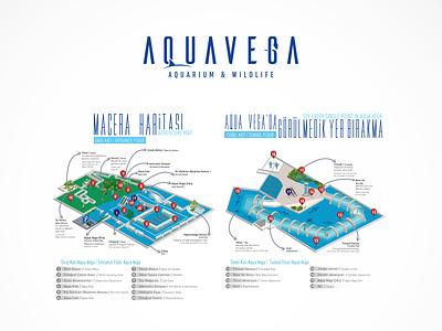 AQUAVEGA Map mapping maps map branding icon