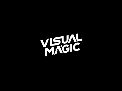 Visual Magic branding typography vector logodesign logo