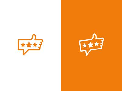 Tell Me Best icon vector design logodesign logo