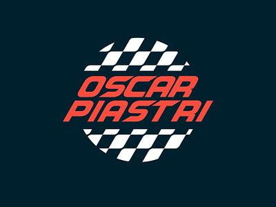 Oscar Piastri logodesign illustration logo vector design