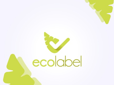 Eco Label Logo Design logodesign illustration vector design logo