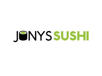 Jonys Sushi Logo logo design logodesign illustration vector design logo sushi logo