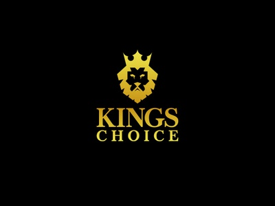 KINGS CHOICE logodesigns typography logodesign illustration logo vector design