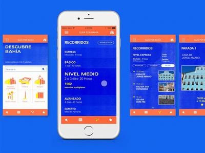 Tour guide app - Guía por Bahía