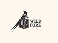 Wild Fork / Re-Branding monogram food dining tulsa oklahoma utica square restaurant rose roses long tailed widowbird bird brand identity branding logo design