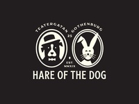 Hare of the Dog - Branding hairdresser göteborg gothenburg hare of the dog brand identity branding logo beauty hair salon growcase