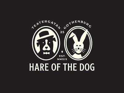 Hare of the Dog - Branding hairdresser göteborg gothenburg hare of the dog brand identity branding logo beauty hair salon growcase
