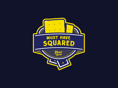wheat thins must have squared badge by emir ayouni