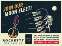 Rockettt - Join Our Moon Fleet