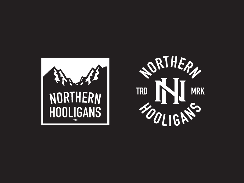 Nothern Hooligans - 2014 Fall/Winter Collection Apparel Designs growcase northern hooligans apparel streetwear clothing mob dist mob distribution monogram nh summit logotype logo