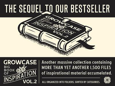 Growcase Big Book of Inspiration - Vol. 2 logotype branding logo designer big book of inspiration inspired inspire ads cigar box cigars pennant pennants ephemera advertisement advertisements vintage retro inspiration growcase