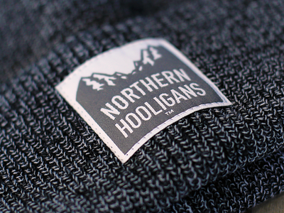 Northern Hooligans™ Embroidered Patch growcase northern hooligans apparel streetwear clothing clothing co mob dist mob distribution