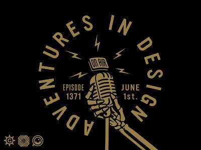 AID Podcast 1371 adventures in design podcast aid podcast mark brickey forefathers illustration logo designer identity brand identity logotype branding logo design logo growcase
