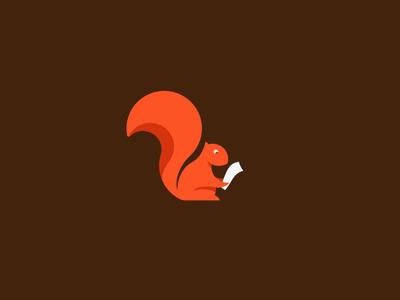 Squirrel reading a Draft.