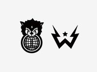 Wolftronix Logomark Explorations