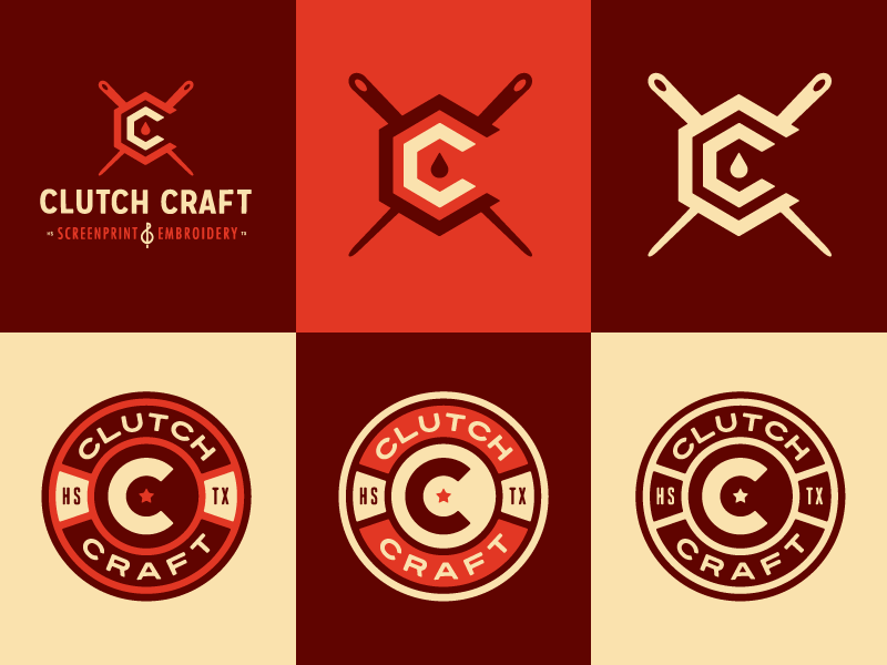 clutch craft logo explorations by emir ayouni dribbble
