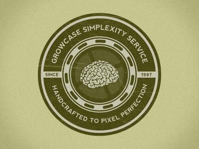 Growcase simplexity service badge standalone