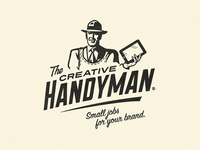 The Creative Handyman - Branding Proposal growcase logo logotype brand identity the creative handyman