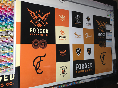 Forged Cannabis Co. Branding Presentation