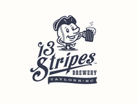 13 Stripes Brewery - Baseball Team Sub-Branding
