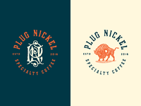 Plug Nickel Specialty Coffee - Finalized Branding