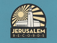 Jerusalem Records Logo Final