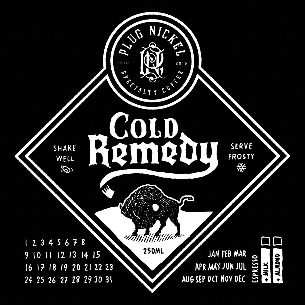 Plug nickel cold remedy attachment