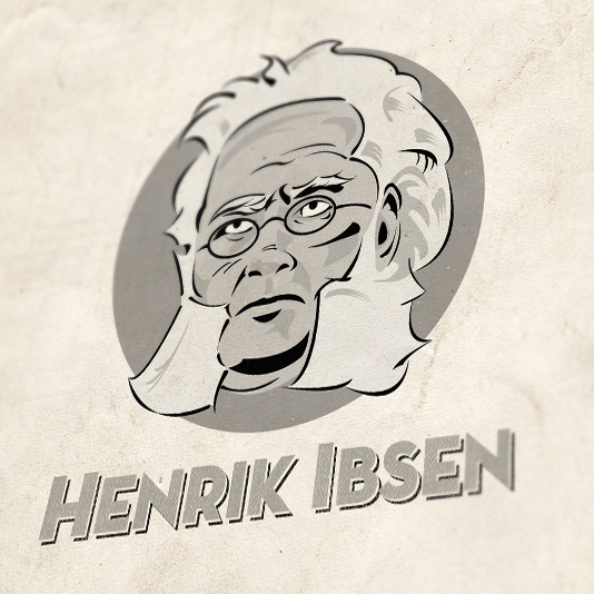 Henrik ibsen avatar illustration large