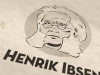 Henrik Ibsen Avatar Illustration