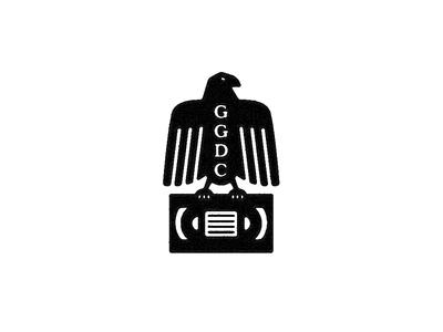 GGDC 80s ggdc vhs eagle logomark logo forefathers growcase