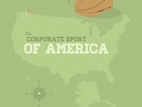 Golf The Corporate Sport Of America 2011 (Infographic)