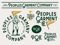 Peoples Garment Company - Branding