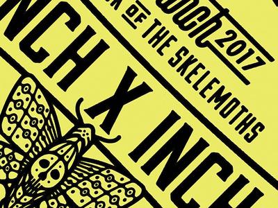 FF / IXI Sneak Peek. skelemoths moth moths skullmoth skullmoths buttons inch x inch forefathers growcase