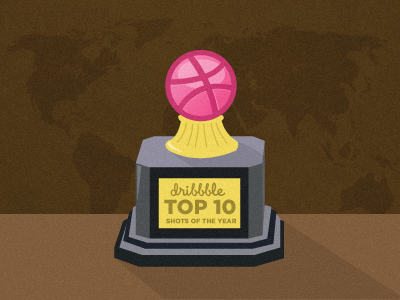 Dribbble Top 10 Shots Of 2011 growcase blog inspiration top 10 list round-up round up 2011