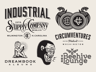Forefathers in Logo Lounge 10 logolounge logo lounge circumventures industrial supply company the beehive lounge dreambook albums superboss brand identity branding logomark logo forefathers growcase