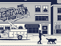 Right Way Signs - Footer illustration